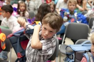 Volle Schultasche - So schützen Sie ihr Kind vor Haltungsschäden